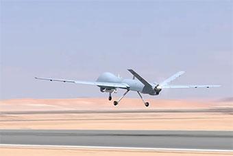 埃及空军宣传片中出现疑似翼龙II无人机场景