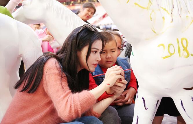 葛天助力公益关爱自闭症儿童 :他们的世界有另一种精彩