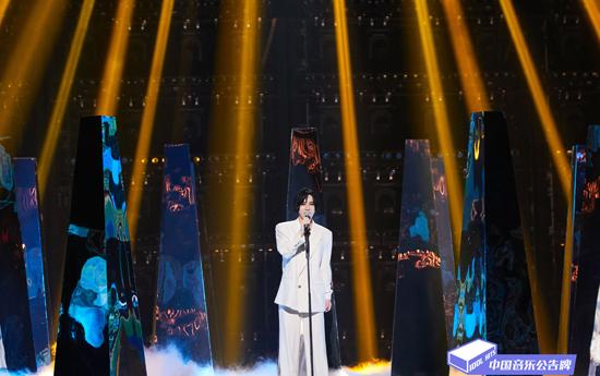 《中国音乐公告牌》尚雯婕再现敦煌震撼观众