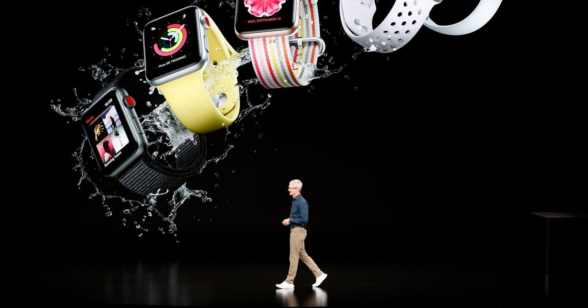 苹果公司拟捐赠1000块智能手表研究暴饮暴食