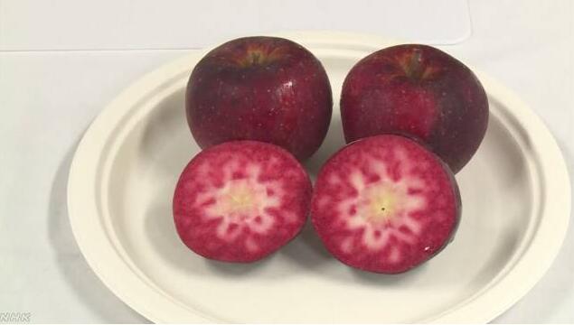 """""""世界最红苹果""""诞生!从皮到果心都红透了"""