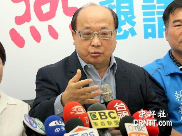 国民党前副主席胡志强:民进党不妥善处理两岸,2020一定吃到苦果