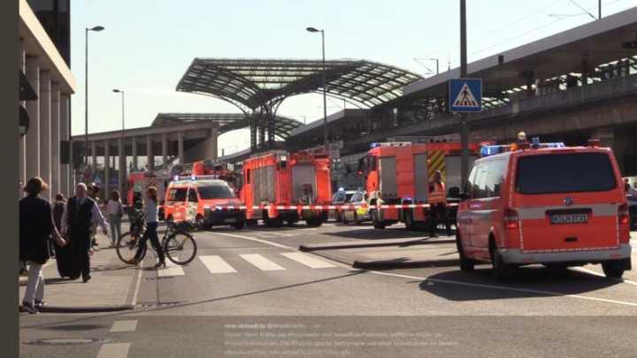 德科隆中央火车站突发劫持人质事件:人质轻伤、嫌疑人重伤