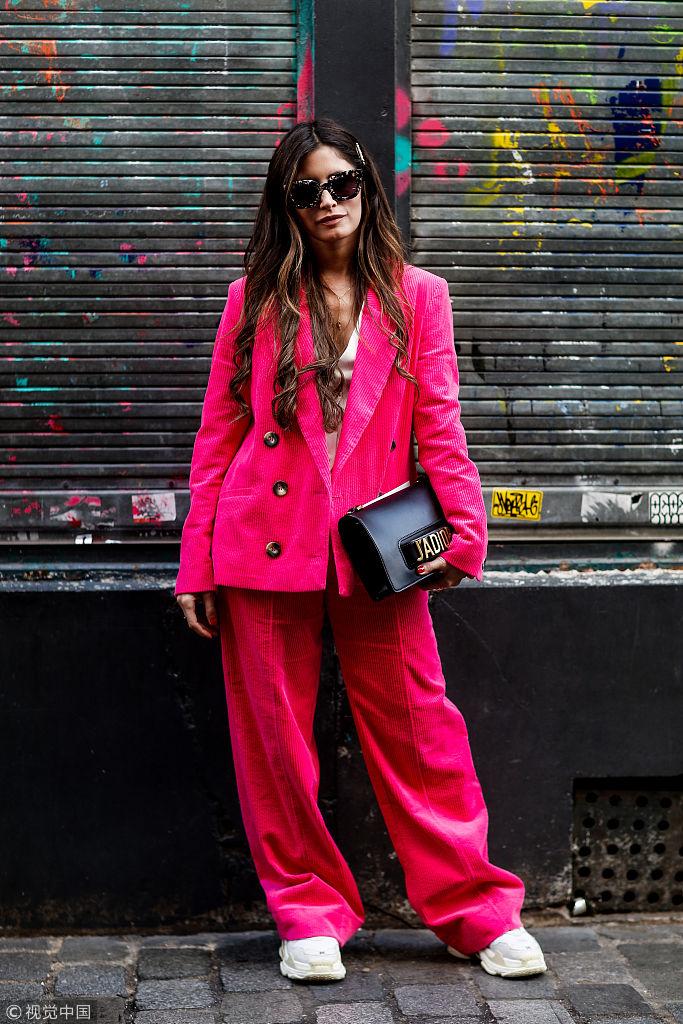 2019春夏巴黎时装周:潮人街拍