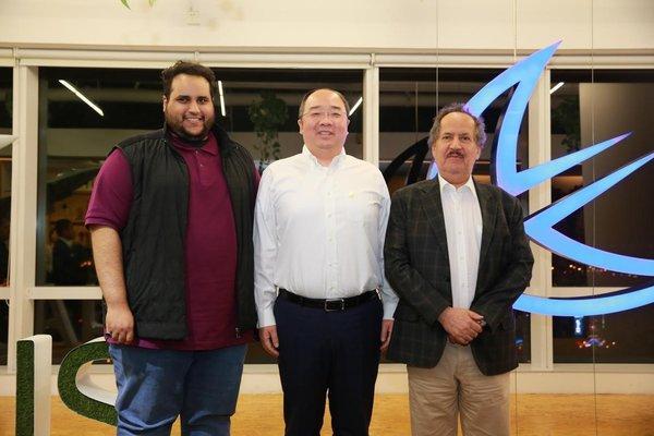 沙特亲王造访麒麟合盛(APUS),双方共创中东互联网新格局