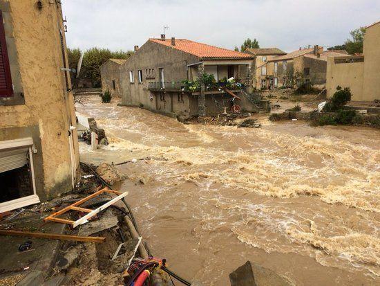 法国南部发生洪灾 已确认7人死亡 5人重伤