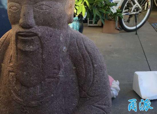 盗走村土地庙有200多年历史的菩萨石像,宁波三男子被行拘