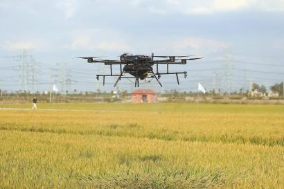 上海首个农业无人机应用实训基地在松江成立