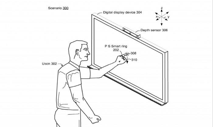 微软智能指环新专利:可识别手势和对其施加的压力