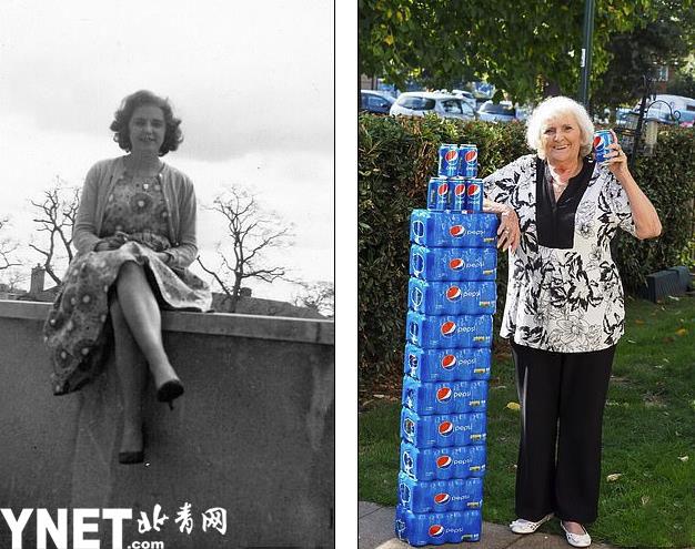 77岁老太60多年每天只喝可乐 摄入糖分相当于300万块方糖