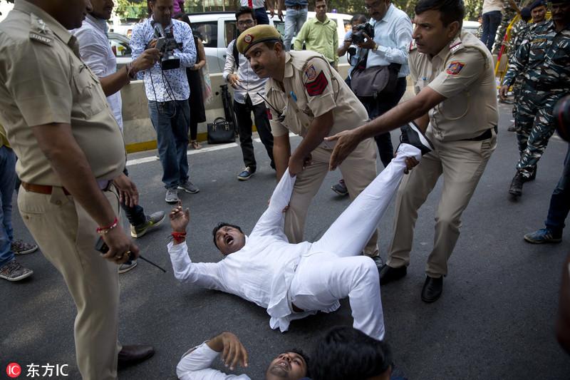 印度外交国务部长被指性骚扰多名女性 引发民众抗议