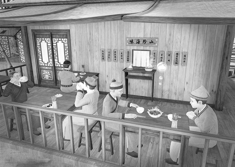 在台北故宫用VR游《清明上河图》