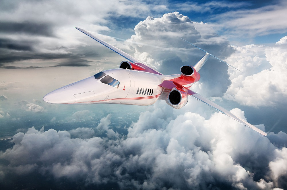 Aerion超音速宣布已完成AS2商用飞机的概念设计