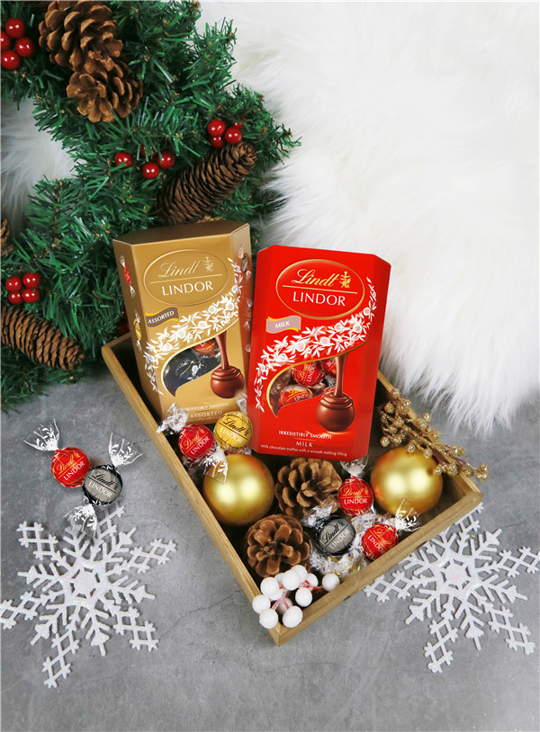 LINDOR瑞士莲软心巧克力,甜蜜每一个动人时刻
