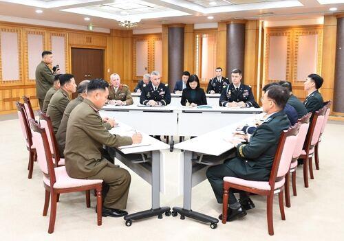 """朝韩与""""联合国军司令部""""启动商讨解除共同警备区武装"""