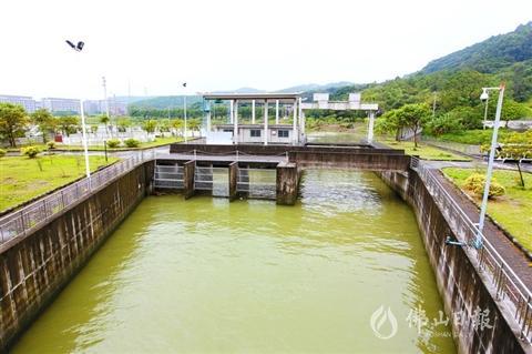 高明沧江水闸断面引水活化工程拟年内动工