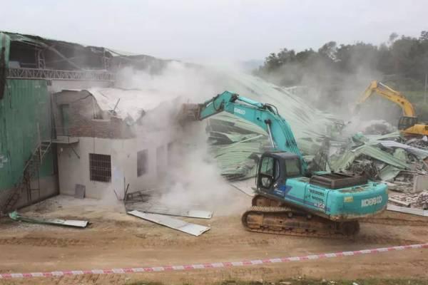 违建?安塘这7间厂房被依法强拆,面积约……