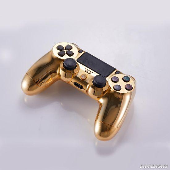 奢侈品商推出镀金镶钻PS4手柄 售价近10万