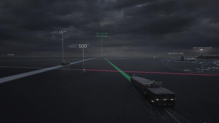 英特尔与罗尔斯·罗伊斯合作开发自动驾驶货船