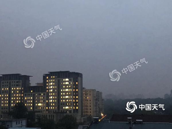 秋雨和冷空气齐发力 北京空气质量好转今天晴天再现