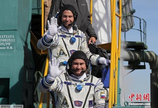 """俄航天机构:""""联盟MS-10""""飞船发射准备工作已开始"""