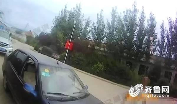 """潍坊出了位""""醉奇葩""""司机 自己开车进警队自投罗网"""
