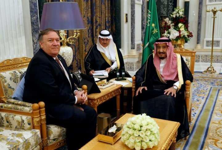 """美国官员:沙特同意就作家失踪一事进行""""彻底""""调查"""