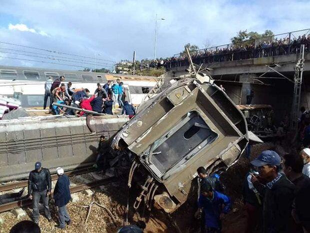 摩洛哥发生火车脱轨事故:至少6死85伤7命危(图)