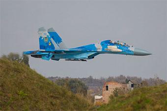 乌克兰苏27战机坠毁 飞行员和后座美军官阵亡