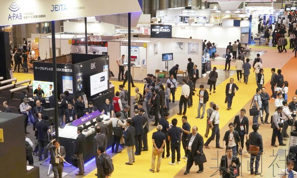 日本CEATEC展开幕 企业竞相展示跨界合作新服务