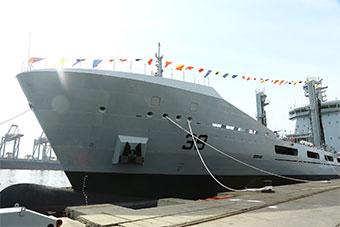 巴基斯坦和土耳其合作打造1.7万吨军舰服役