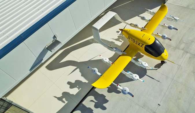 新西兰航空联合美初创公司推飞行无人驾驶出租车