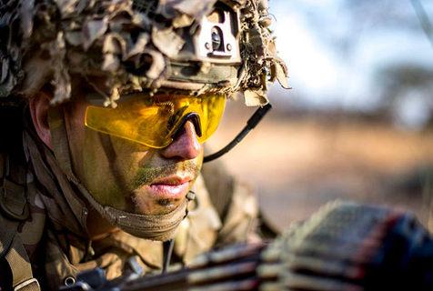 英国军人摄影大赛 记录军旅精彩瞬间