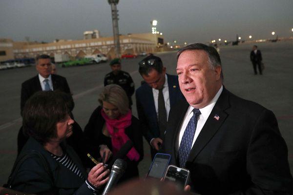 """蓬佩奥:沙特承诺在失踪记者调查中""""无人逃脱追究"""""""