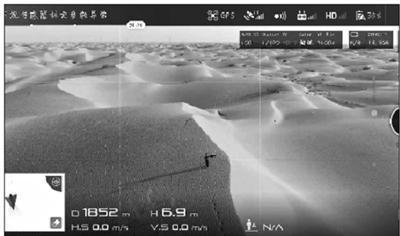 男子塔克拉玛干沙漠迷路 民警用无人机引路(图)