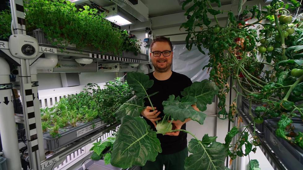 未来火星人类不用愁 南极温室可种植新鲜农作物