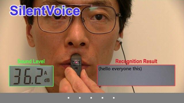 微软研究院正开发一种识别静音语音命令新技术