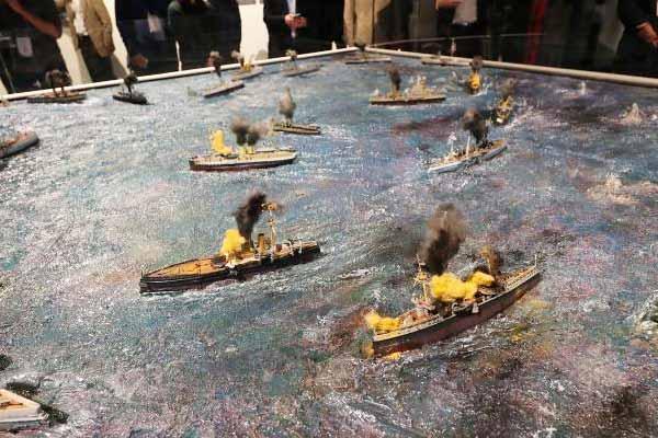 致敬致远舰特展在中国港口博物馆开幕