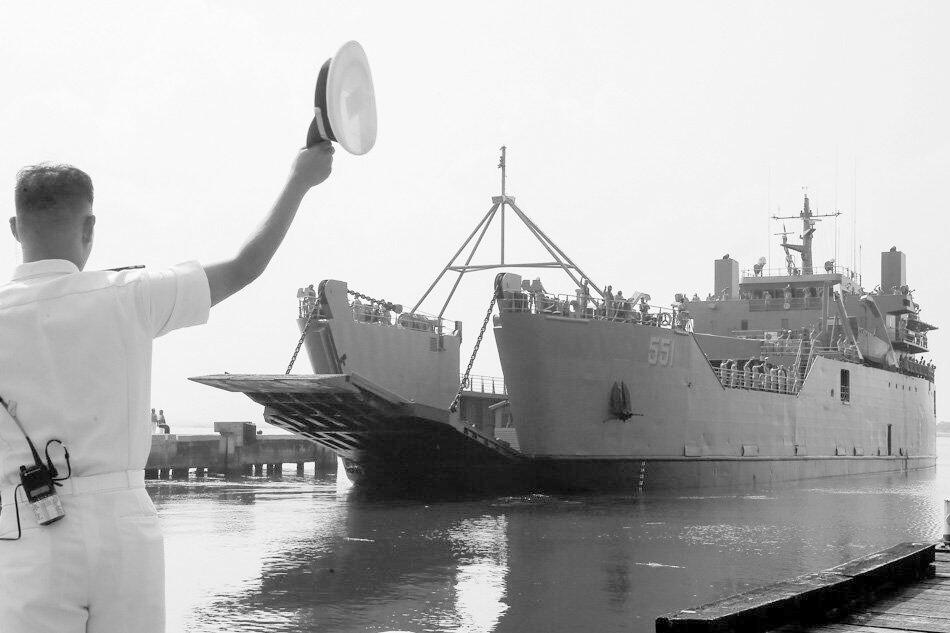 菲军舰来华参加中国与东盟十国海上军演(图)