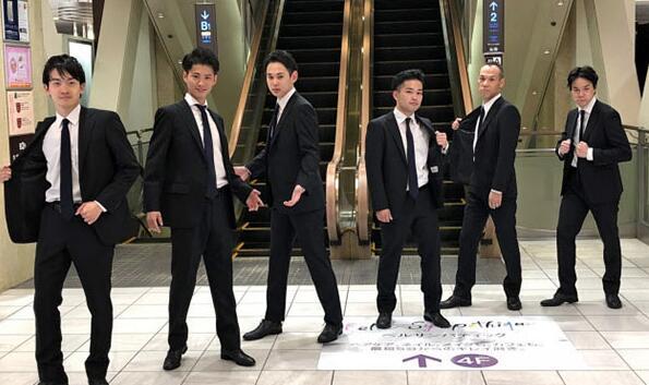 日本百货商场揽客新招:跳舞视频