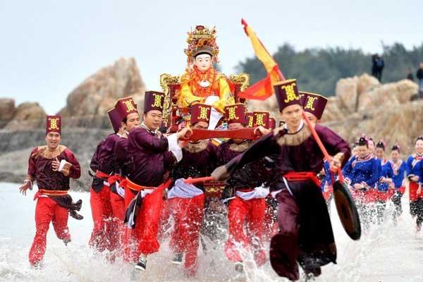 海内外信众海祭妈祖 纪念妈祖升天1031周年