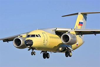 俄罗斯最后一架安-148运输机起飞