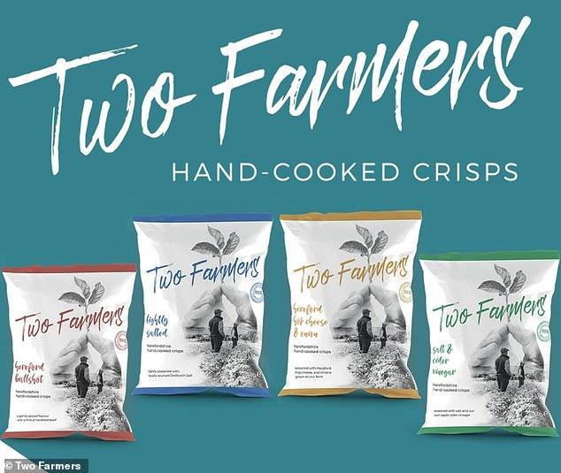 英国两位农民用桉树木浆制作出可生物降解薯片袋