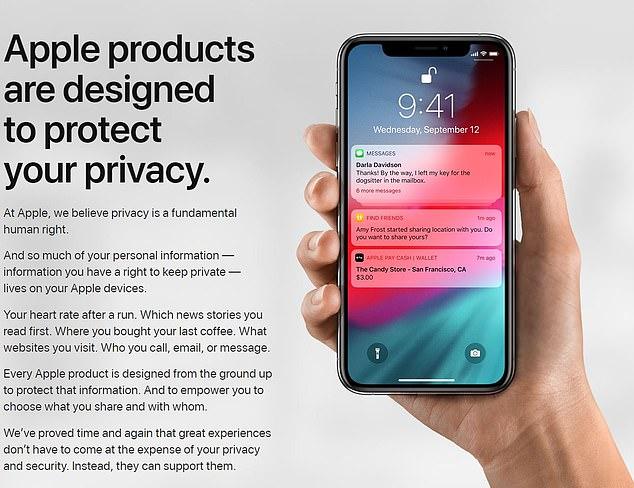 苹果在美上线隐私网站 用户可获知数据使用情况