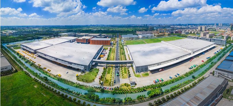 苏宁天津北辰电商产业园摘牌 将打造全球智慧物流标杆