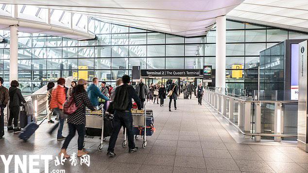 希斯罗机场拟装人脸识别通关器 无需护照也能飞