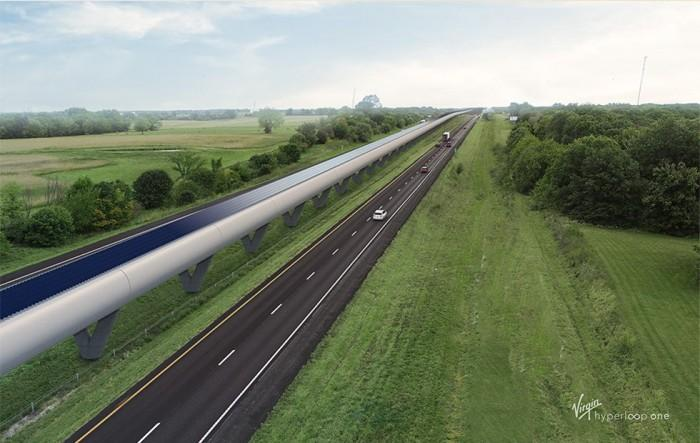 """研究:在密苏里州建""""超级高铁""""可行但成本高"""