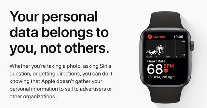"""苹果更新""""隐私页面"""" 承诺保护用户数据安全性"""