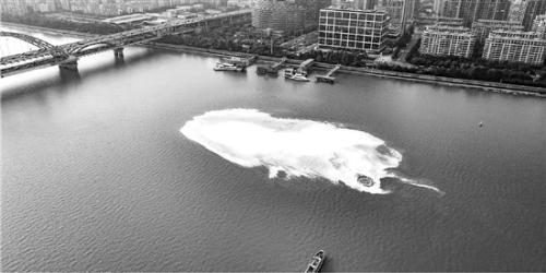 钱塘江神秘漩涡真相:地层中沼气夹带发泡剂引起