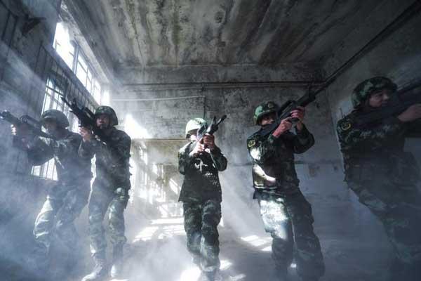 武警忻州支队加强应急反恐力量建设